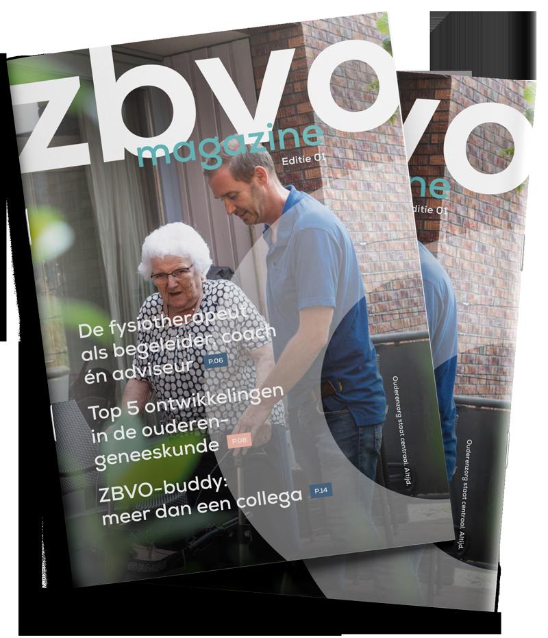 Voorbeeld van ZBVO magazine editie 1